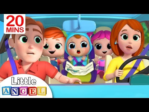 Are We There Yet? | Going to the Toy Store | Nursery Rhyme by Little Angel
