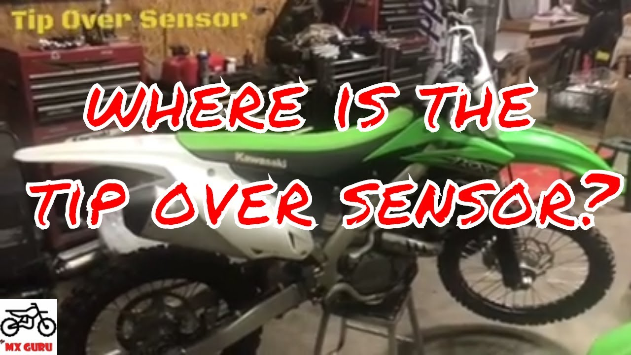 KX250f Tip Over Sensor Location - Kawasaki KXF Electrical - WHERE IS MY TOS  ?