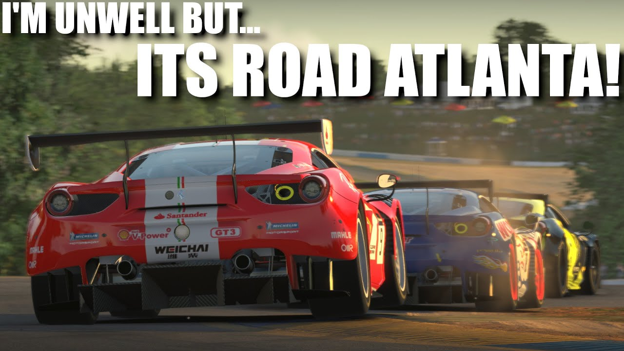 iRacing Road Atlanta Fixed Ferrari Series