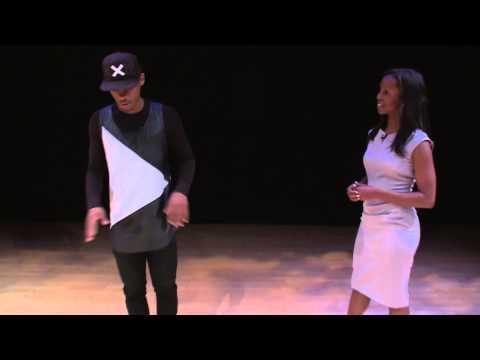Author Sarah Lewis speaks with dancer Lil Buck