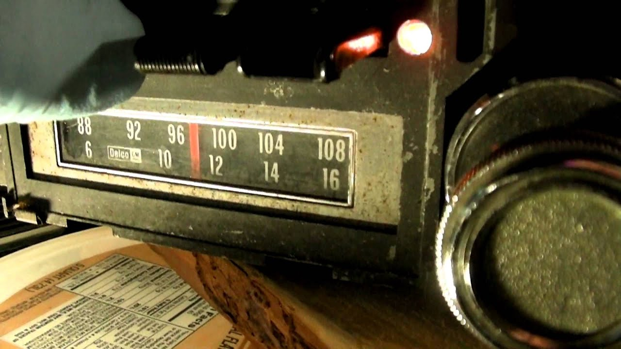 maxresdefault 1970's gm delco am fm 8 track car radio youtube 8 track player wiring diagram at mifinder.co