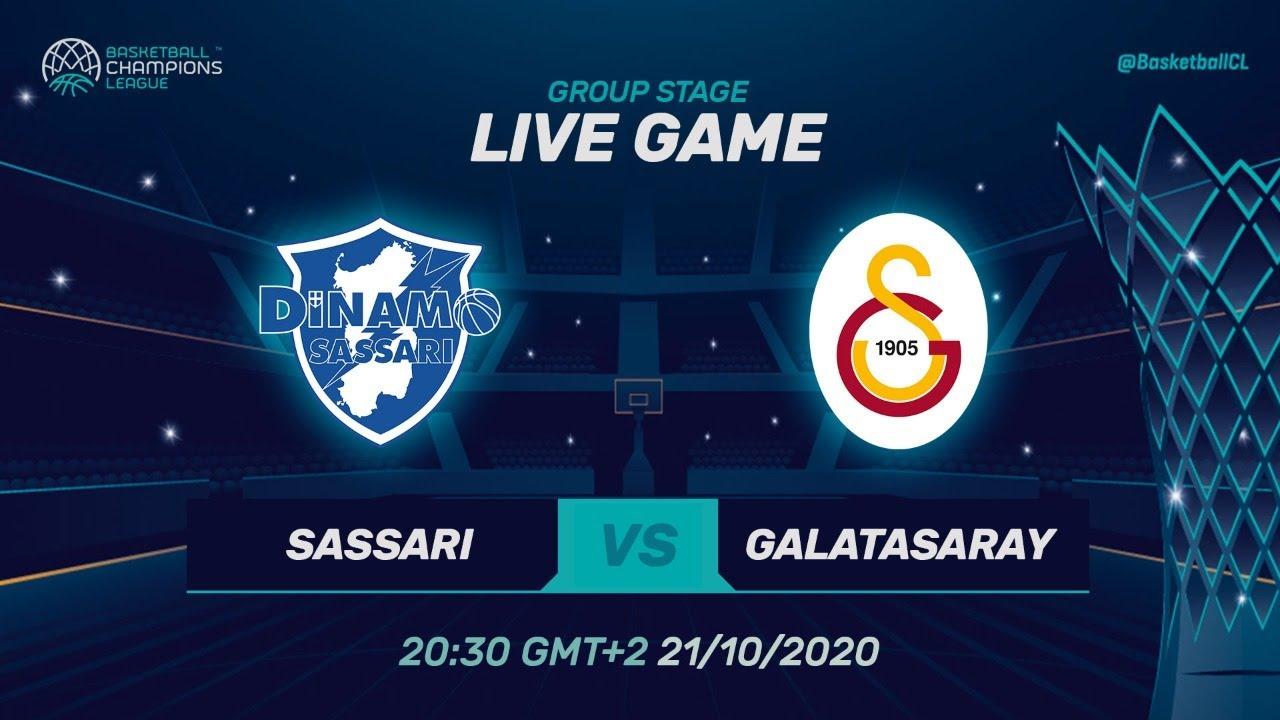 LIVE 🔴 Dinamo Sassari v Galatasaray Doga Sigorta