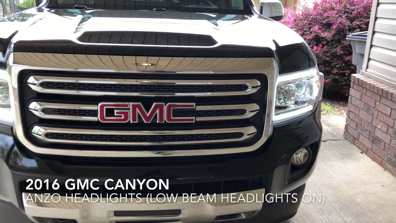 2017 2018 Gmc Canyon Anzo Headlights