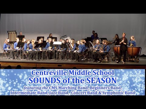Centreville Middle School Sounds of the Season 2018