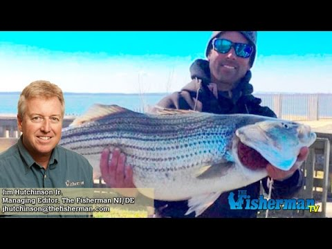 March 23, 2017 New Jersey/Delaware Bay Fishing Report with Jim Hutchinson, Jr.