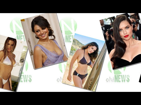 Top 10 Beautiful Brunettes In The World - Oh!News