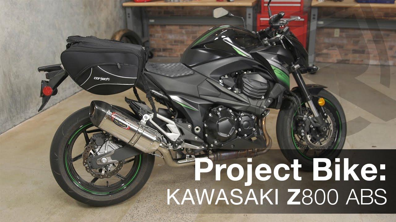 Project Bike 2016 Kawasaki Z800 Abs Motorcycle Video Review