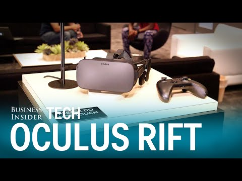 Oculus Rift demo with founder Palmer Luckey – E3 2015