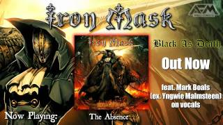IRON MASK - Black As Death (2011) official album trailer // AFM Records