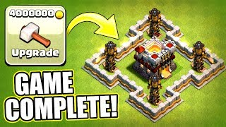 WE HAVE COMPLETED CLASH OF CLANS MAIN VILLAGE!! - FINAL UPGRADE AT TOWN HALL 11!