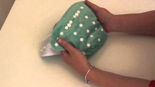 Baby Bare Cloth Nappies - How to use our cloth nappies