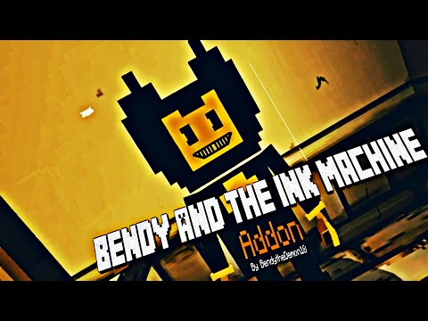 Bendy And The Ink Machine Addon Teaser Trailer | Minecraft [MCPE] (download In The Descriptions)