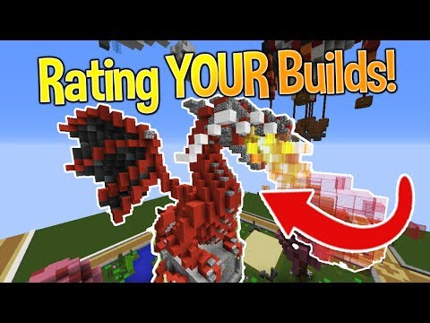 Minecraft: Rating YOUR Builds! #4