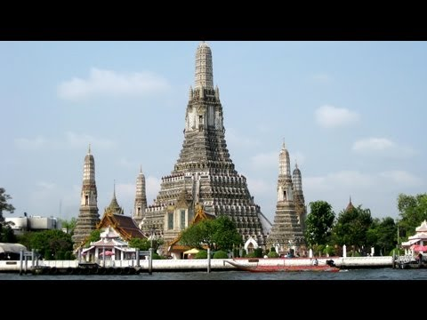 "Thailand - Bangkok - Wat Arun ""Temple of Dawn"""