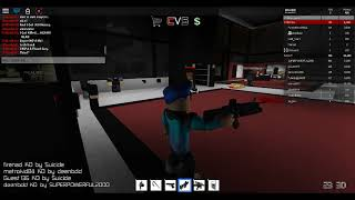 ROBLOX: CRIMINALS vs. SWAT Gameplay w/ Dämon König 285