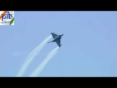 TEJAS - the beautiful and lethal Light Combat Aircraft at Aero India 2019