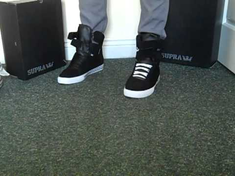 dd7ea3358492 Supra TK Society Black Suede - Skinny Jeans - Get The Look with  itsNOTFORgirls - YouTube