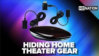 Hide Your Home Theater Gear