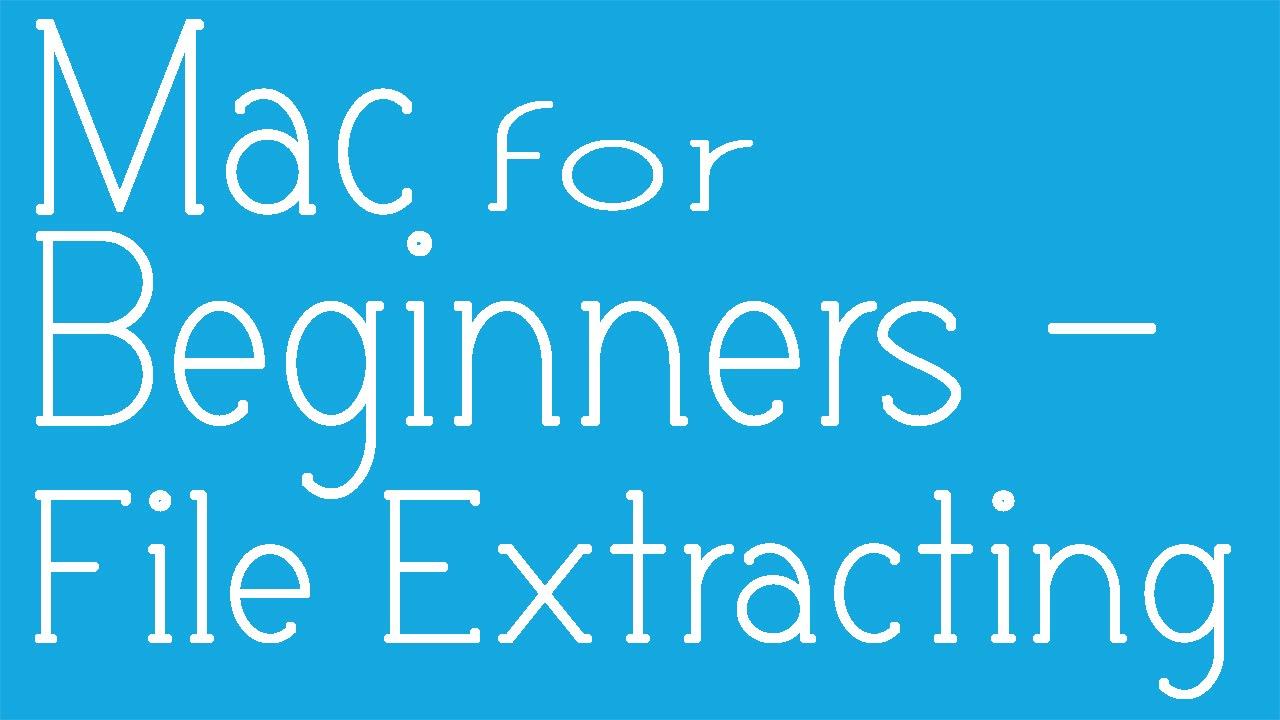 7z mac extractor