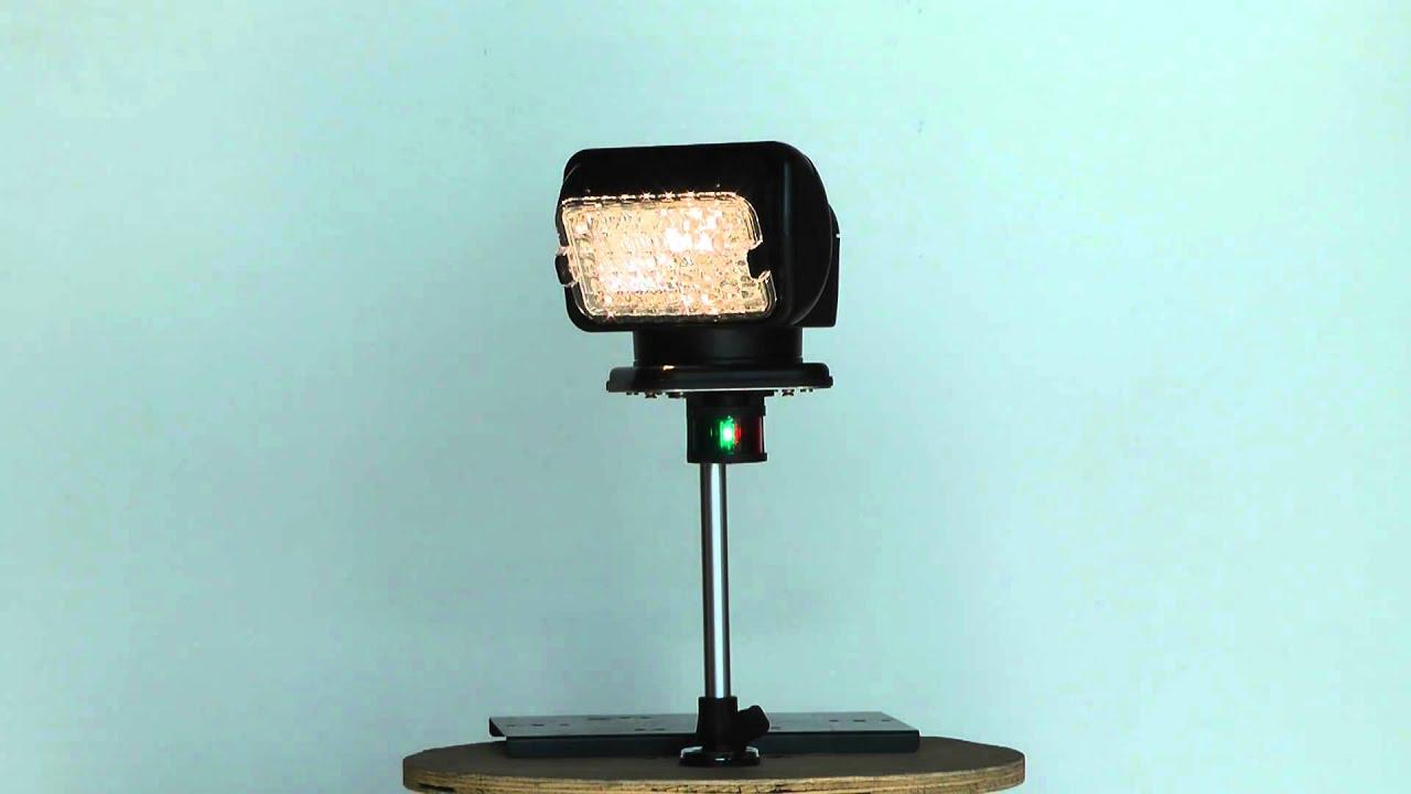 Gl 2110 12 E Magnalight Golight Remote Control Spotlight