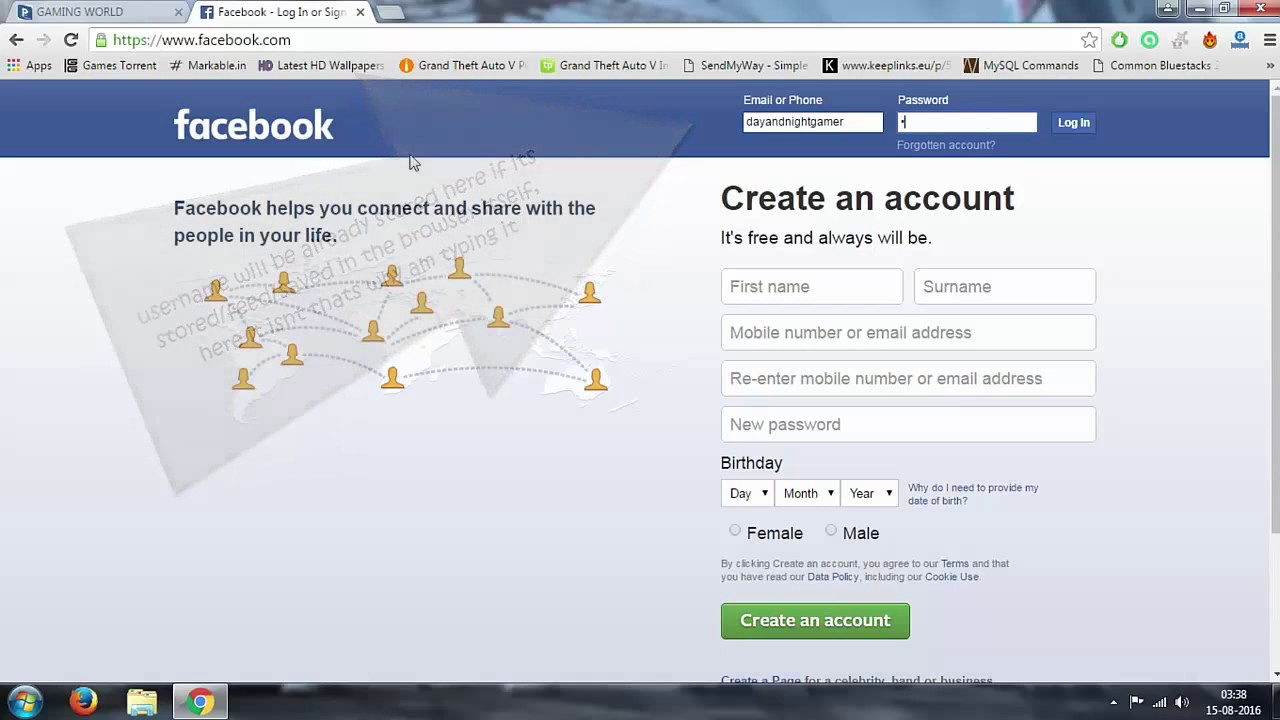 View Password On Facebook