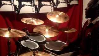 With Long Life By Israel Houghton ft. T-Bone Drum Cover by John O