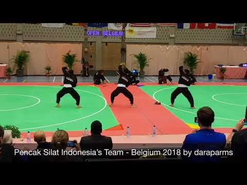 Performing Pencak Silat Indonesia, Belgium 2018