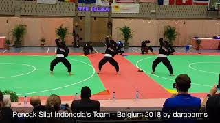 Performing Pencak Silat Indonesia, Belgium 2018