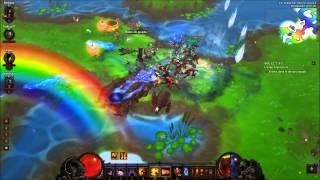 Diablo 3 Bisounours Land entre amis
