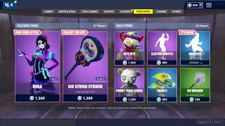 'NEW' DANTE et ROSA SKINS! (Fortnite Item Shop 1er novembre)