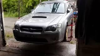 Распил Subaru Legacy BP5 прибыл в Челябинск! Первый обзор и распаковка)