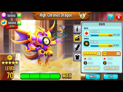 Dragon City: Hatching NEW High Chronos Dragon, the BEST Heroic Dragon 2021! 😱