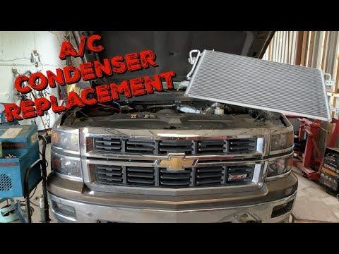2014-2018 Chevy Silverado A/C Condenser Replacement – Sierra-Tahoe-Yukon-Suburban-Escalade
