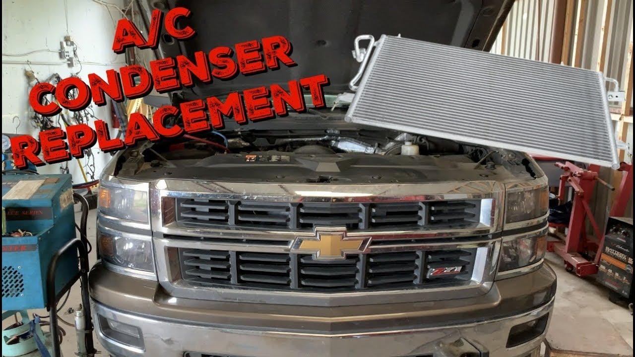 2014-2018 Chevy Silverado A/C Condenser Replacement -  Sierra-Tahoe-Yukon-Suburban-Escalade