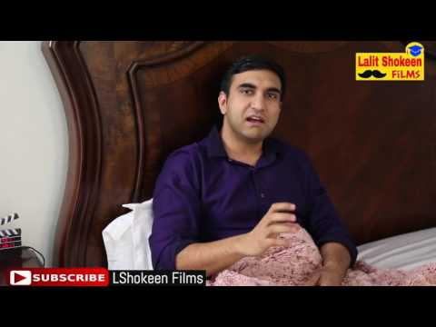 Valentine's Day after Marriage     Lalit Shokeen Comedy by Hariom Solanki