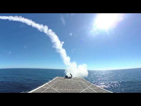 HIMARS Launch from Sea-Based Expeditionary Force (S-BEF)