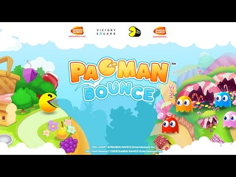PAC-MAN Bounce - Puzzle Adventure - Best App For Kids - IPhone/iPad/iPod Touch