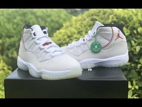 """First Look Best UA Air Jordan 11 """"Platinum Tint"""" review:yeezykickss.net"""