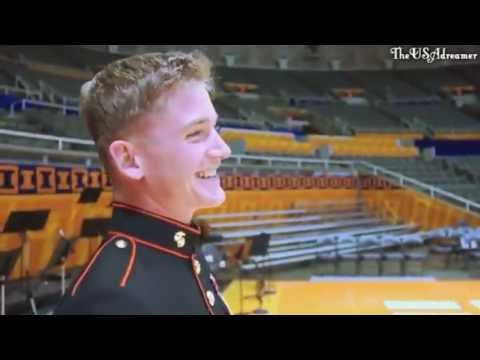 U.S Marine comes home and surprises his...