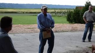 Cliff Bailey celebrates conservation of his 103-year-old family farm