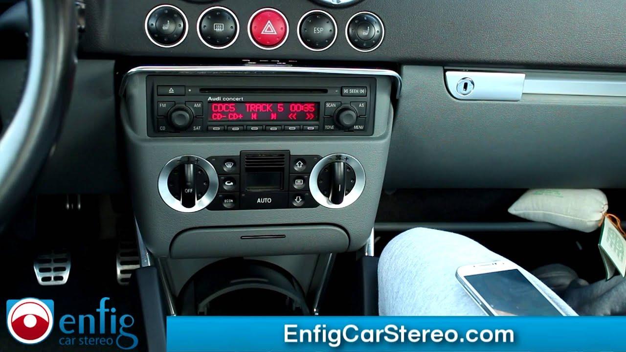 Bluetooth USB with iPod & Aux option Audi TT 20022006 Dension GBL3 AU2  YouTube