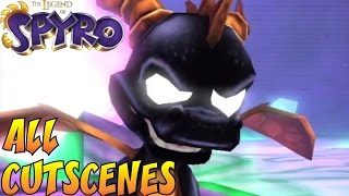 The Legend of Spyro Trilogy - All Cutscenes Full Movie HD