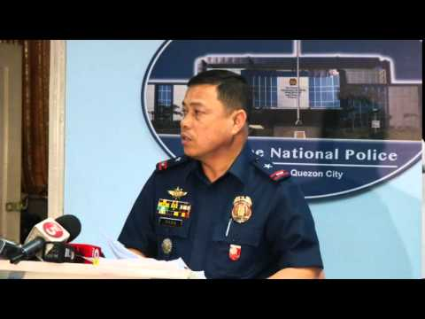 Manila Police District MEDIA BRIEFING (Sept. 4, 2015)