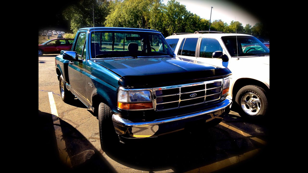 1995 Ford F 150 Flare Side 4 9l Straight 6 Start Up Quick