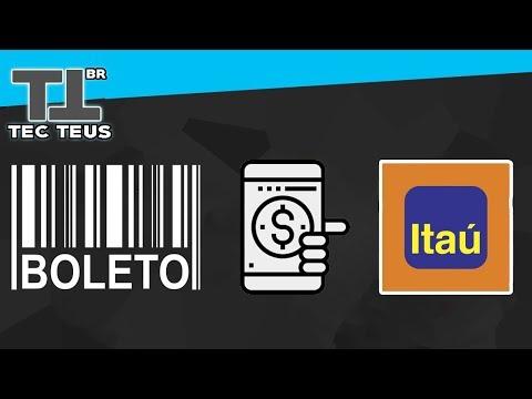 COMO PAGAR QUALQUER CONTAS/BOLETOS NO ITAÚ ONLINE