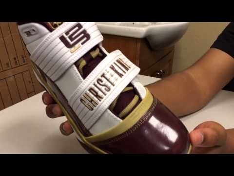 8fbf07b22be2 Lebron CTK and SVSM Zoom Soldier 3 III Samples Sneaker Review - YouTube