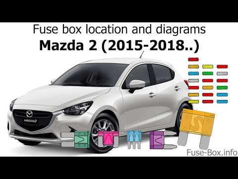 mazda 2 2008 fuse box wiring diagram Mazda 626 Fuse Box Diagram