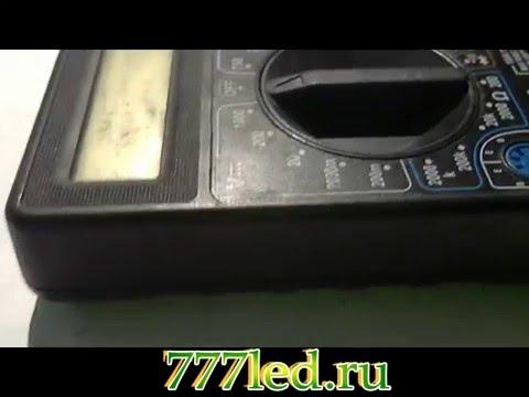 Ремонт мультимера DT 838
