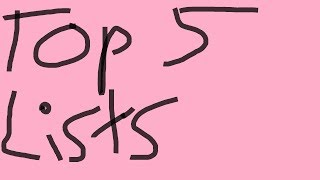 Top 5 Lists: Games