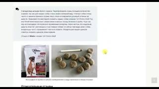 Обзоры на корма и товары для домашних животных